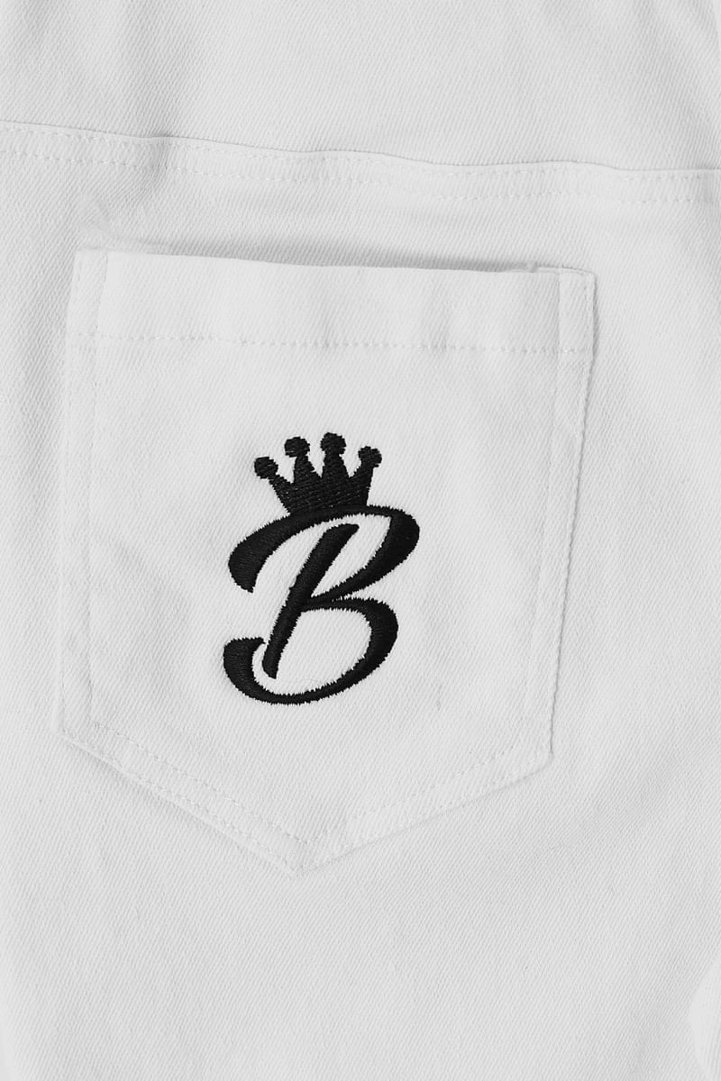 B Collection Jeans - White Back Close