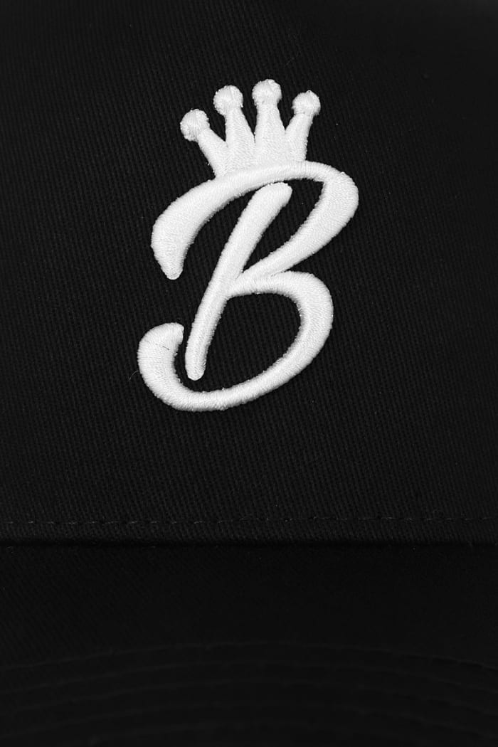 B Collection Snapback - Black : Front Close