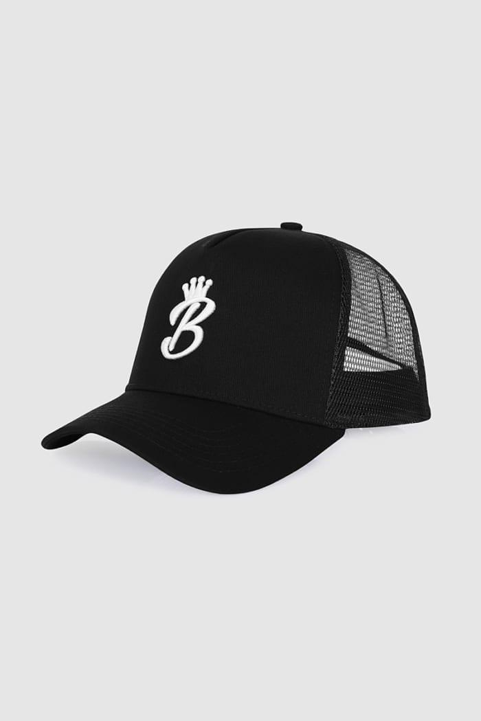 B Collection Snapback - Black : Side