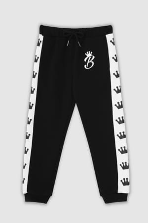 Crown Collection Joggers - Black Front