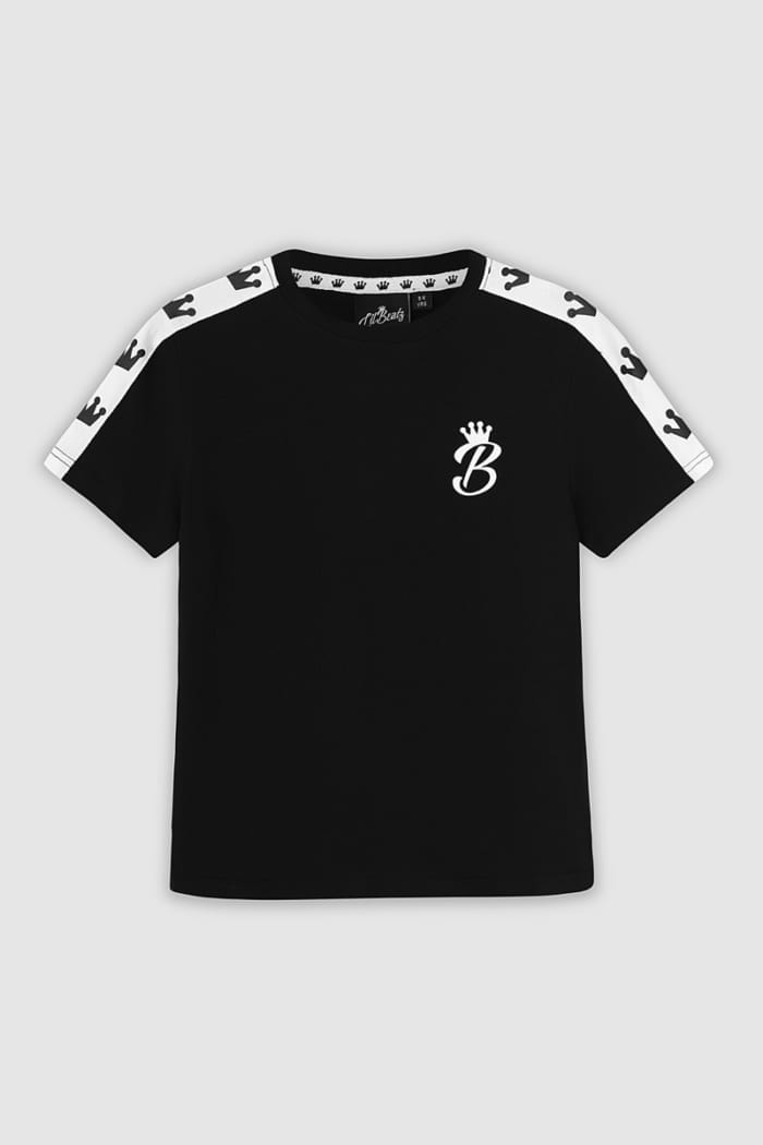 Crown Collection Tshirt - Black : Front