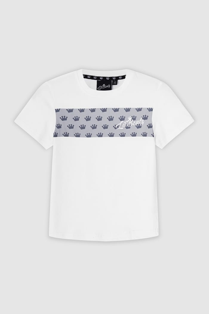 Strip Collection T-shirt - White : Front