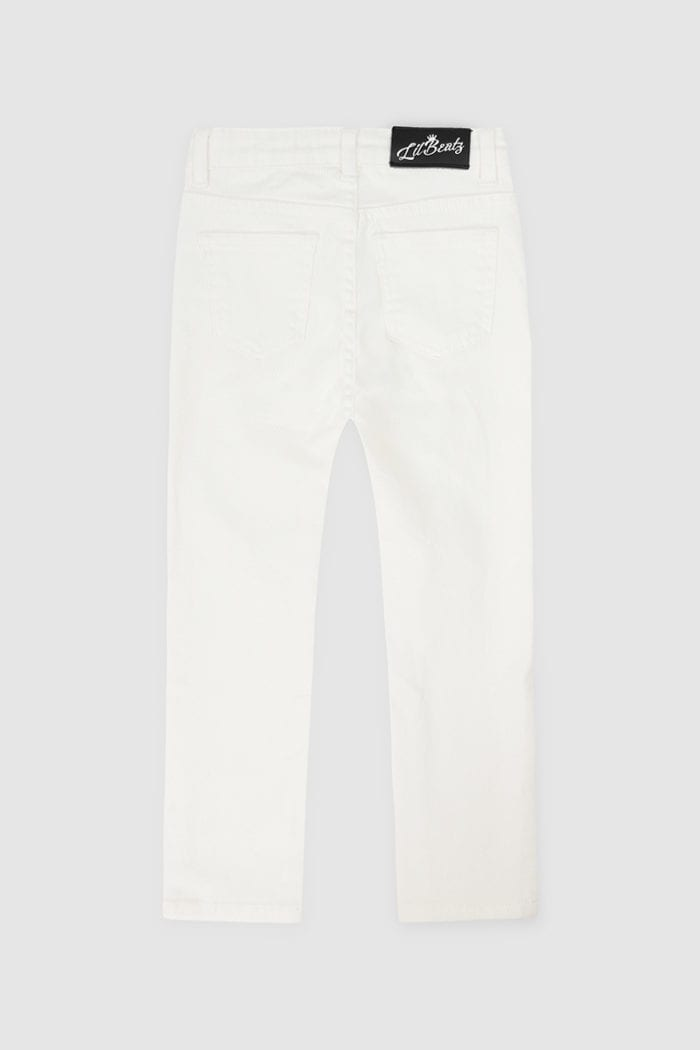 Classic Ripped Skinny Jeans White Boys Back Back