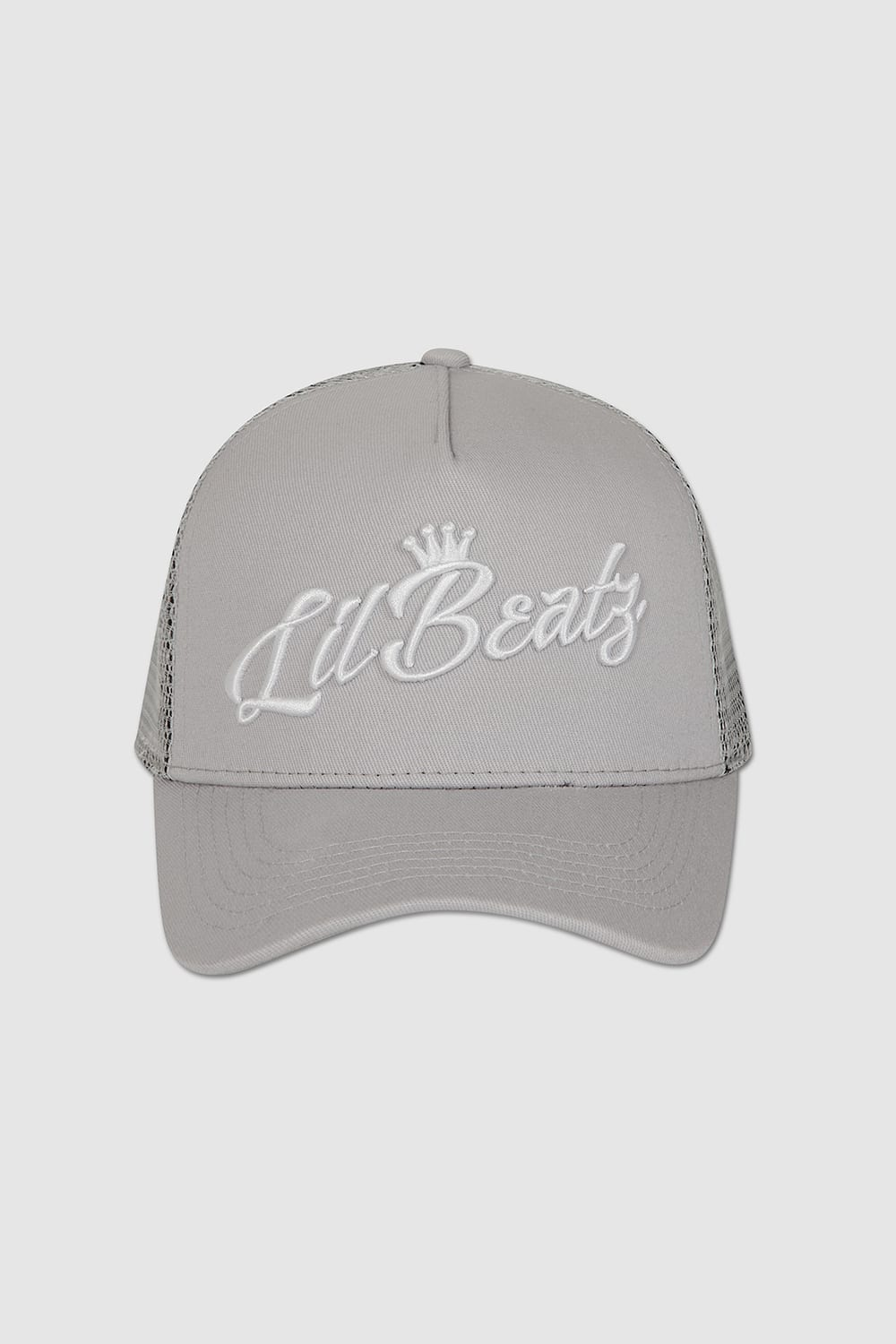 Classic Grey Snapback Front