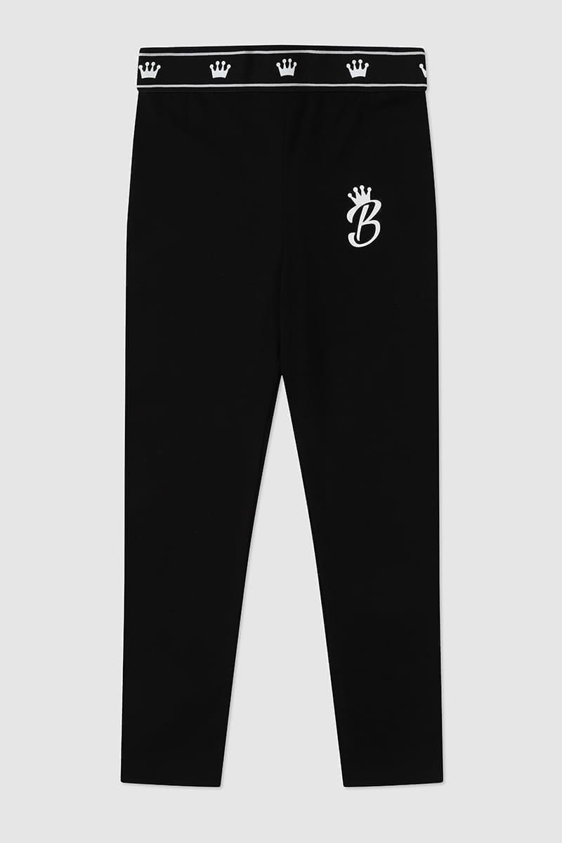 Black Leggings Front