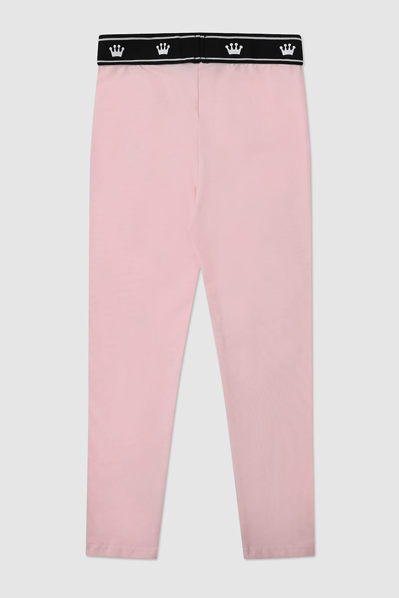 Pink Leggings back